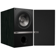 "KEF Q100 5.25"" 2-Way Bookshelf Speaker Black Pair NEW"