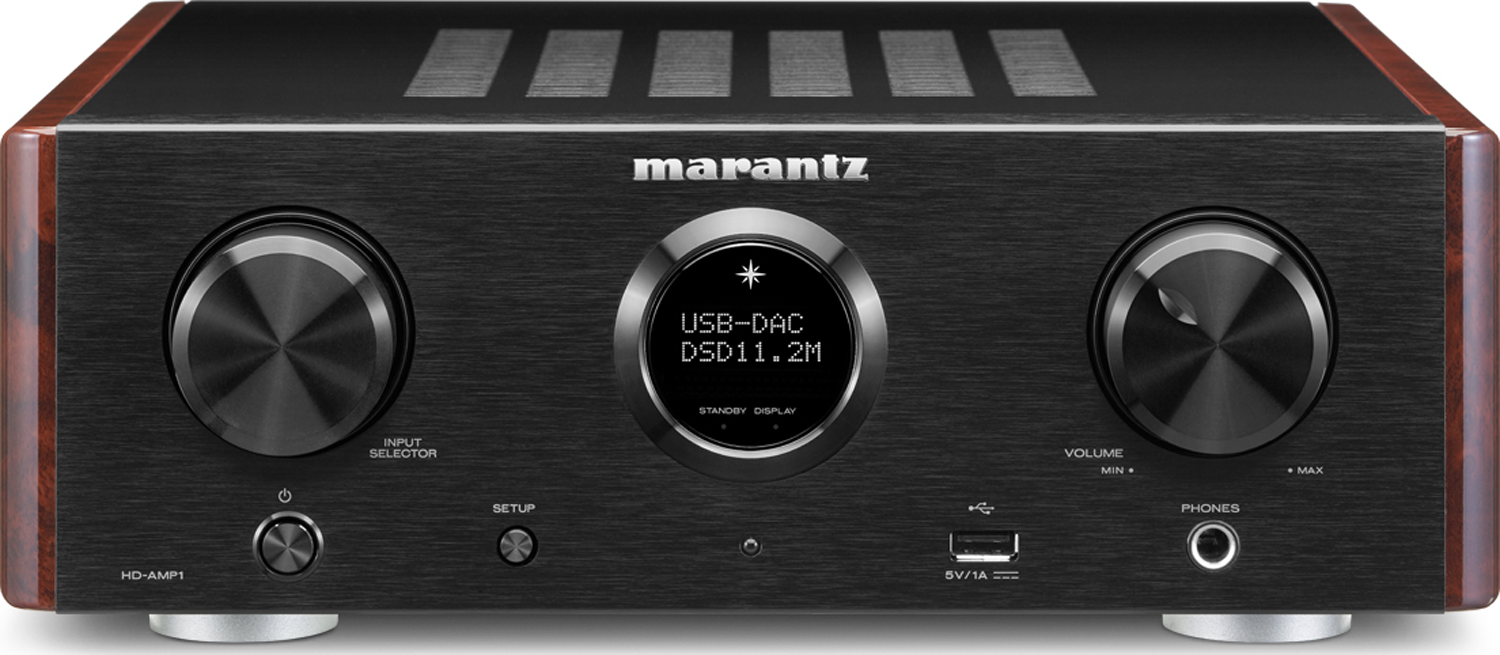 MARANTZ HD-AMP1 2-Ch x 35 Watts Integrated Amplifier w/ USB-DAC