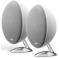 "KEF E301 4.25"" 2-Way Satellite Speaker White Pair"