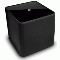 "KEF Kube1 8"" 150 Watt Powered Subwoofer Black NEW"