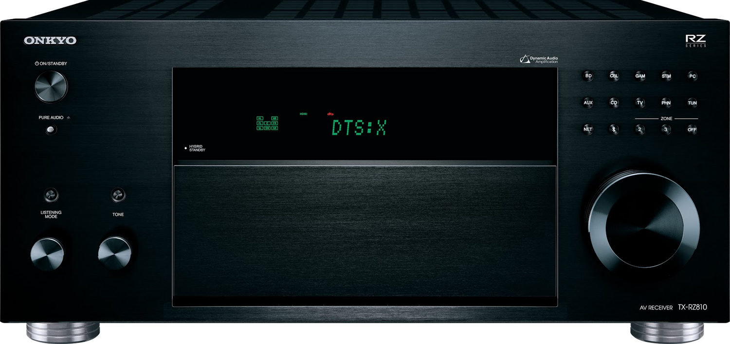 Onkyo Tx Rz810 72 Ch X 130 Watts Thx Networking A V Receiver With Pre Outs On Wiring Diagram For Powered Subwoofer