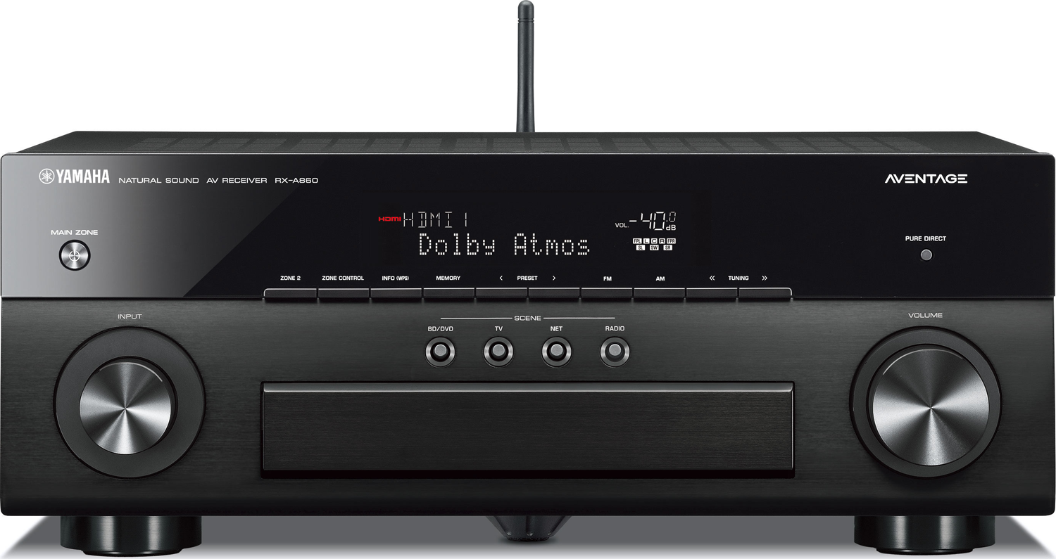 Yamaha rx a860 7 2 ch x 100 watts networking a v receiver for Yamaha multi zone receiver