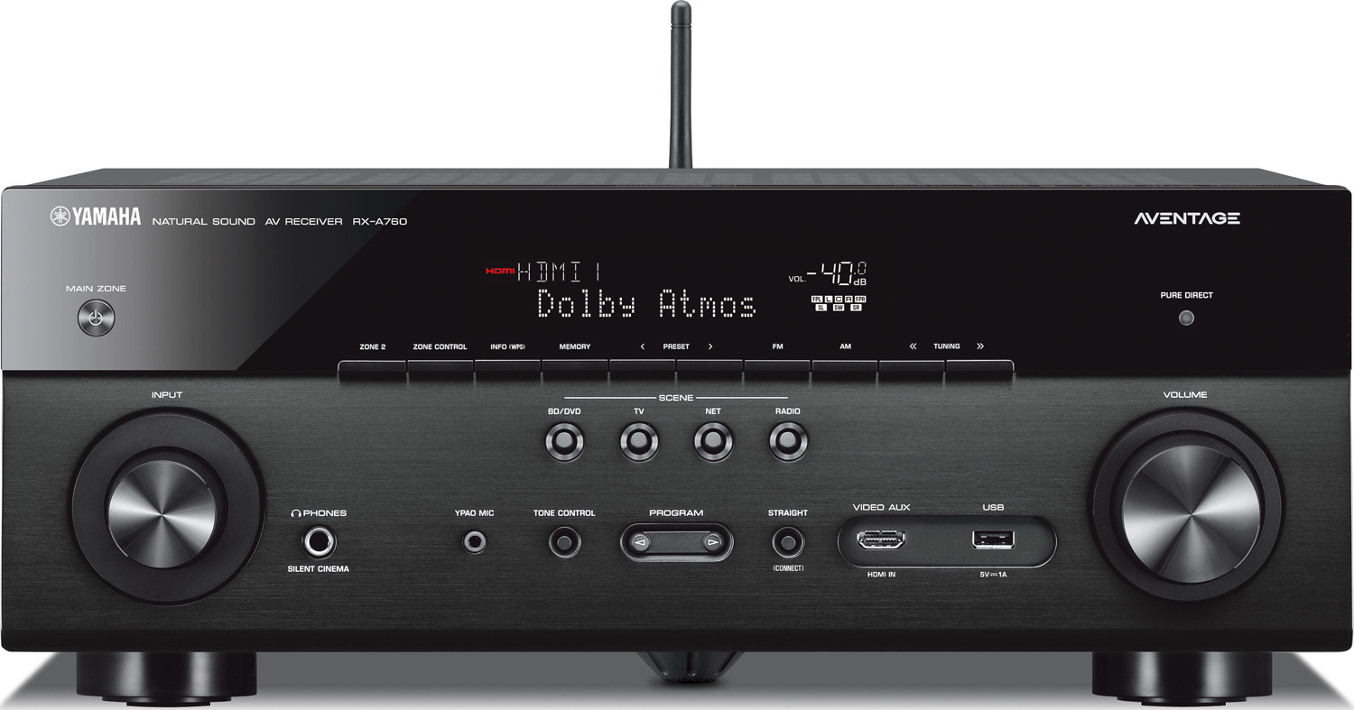 YAMAHA RX-A760 7.2-Ch x 90 Watts Networking A/V Receiver