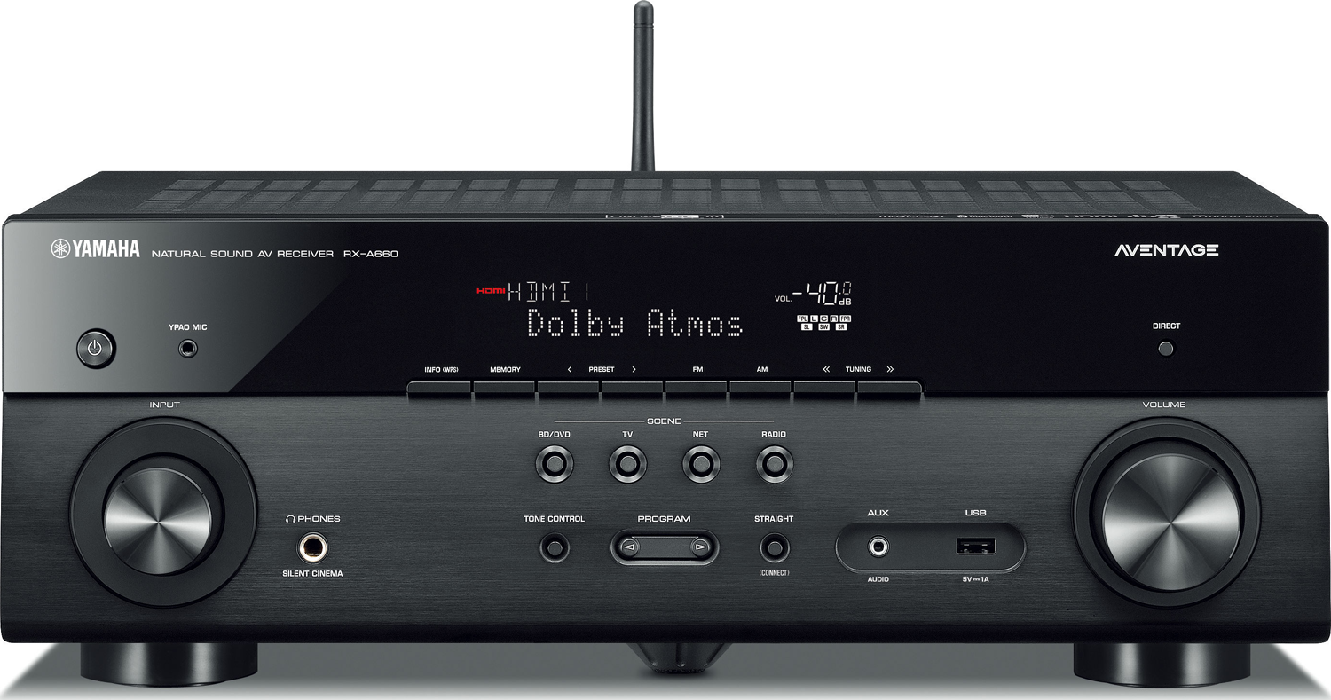 yamaha rx a660 7 2 ch x 80 watts networking a v receiver. Black Bedroom Furniture Sets. Home Design Ideas