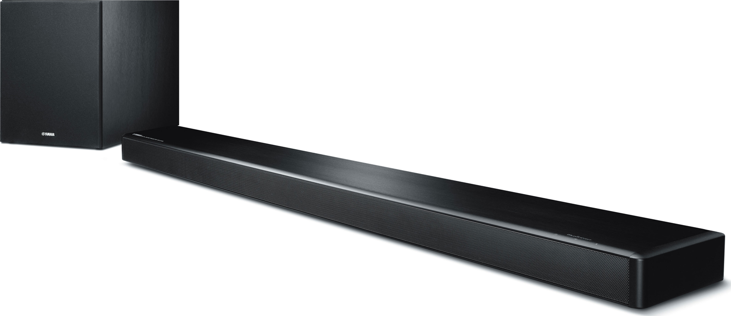 yamaha ysp 2700 musiccast sound bar with wireless. Black Bedroom Furniture Sets. Home Design Ideas