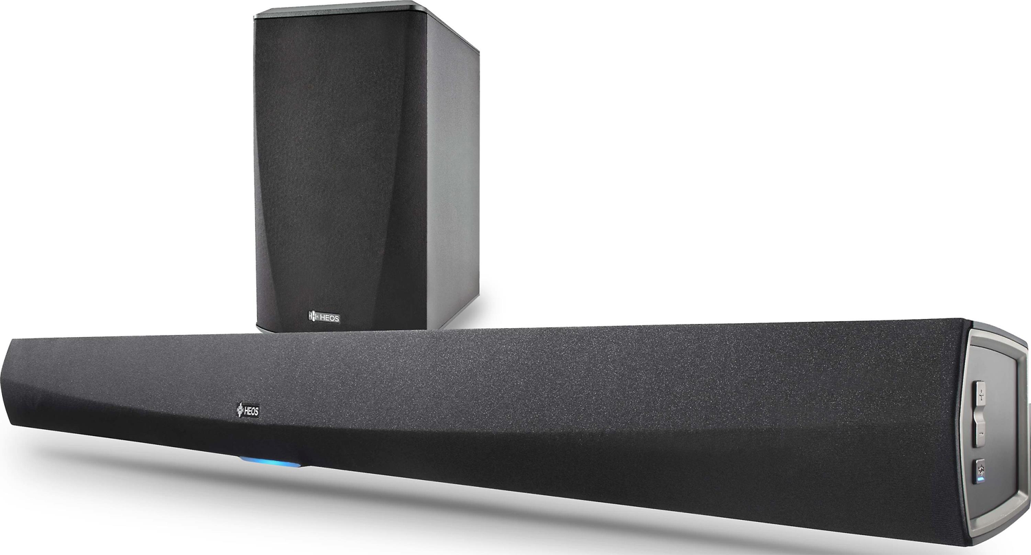 HEOS Home Cinema Powered Soundbar w/ Wireless Subwoofer Wi-Fi