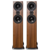 "CAMBRIDGE AUDIO SX80 6.5"" 3-Way Floorstanding Speaker Dark Walnut Pair"