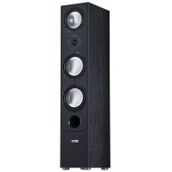 "CANTON GLE490.2 8"" 3-Way Floorstanding Speaker Black Each"