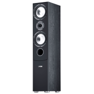 "CANTON GLE 470.2 7"" 3-Way Floorstanding Speaker Black Each"