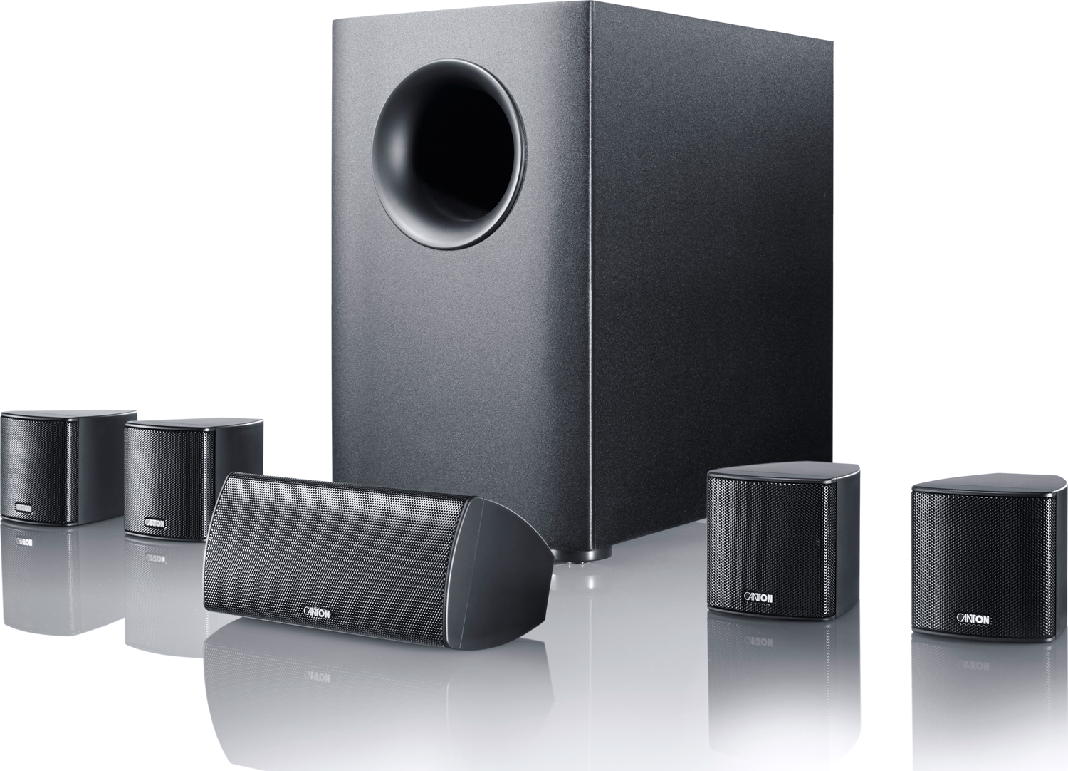 canton movie 95 5 1 speaker system superior to bose. Black Bedroom Furniture Sets. Home Design Ideas