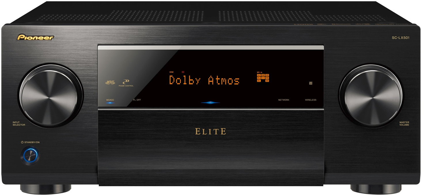 PIONEER Elite SC-LX501 7.2-Ch x 120 Watts Networking A/V Receiver