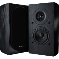 "PIONEER SP-BS22-LR 4"" 2-Way Bookshelf Speaker Black Pair"