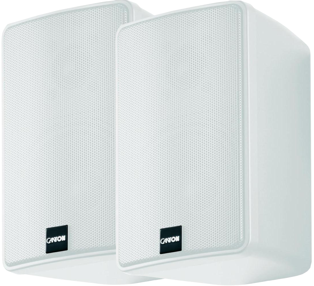 Canton Plus Gxl 3 5 Quot 2 Way Bookshelf Speaker White Pair
