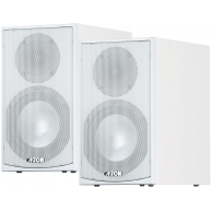 "CANTON GLE 420.2 6"" 2-Way Bookshelf Speaker White Pair"