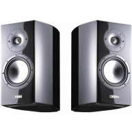 "CANTON Vento Reference 9 DC 7"" 2-Way Bookshelf Speaker Piano Black Pair"