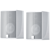"CANTON CD-1020 3"" 2-Way Bookshelf Speaker w/wall Mounts White Pair"