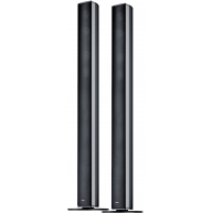 "CANTON CD-190 3"" 3-Way Floorstanding Speaker Black Gloss Pair"