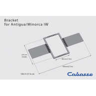 CABASSE New Construction Mounting Bracket for Minorca/Antigua In-Wall Speaker Each