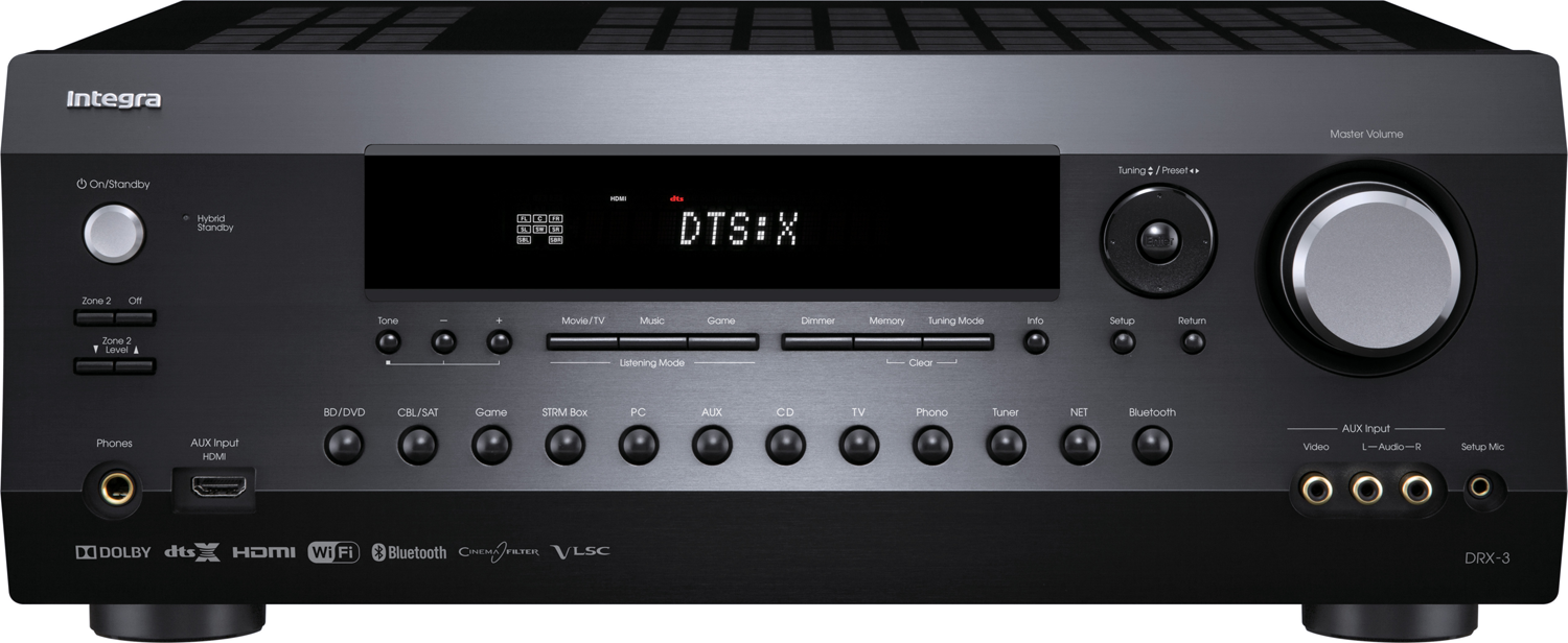 Integra Drx 3 7 2 Ch X 100 Watts Networking A V Receiver