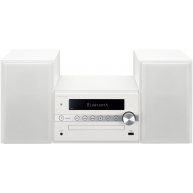 PIONEER X-CM56W Bluetooth CD Receiver System FM/AM Tuner, and USB