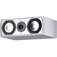 "CANTON GLE 455.2 6"" 2-Way Center Channel Speaker Matte White Each"