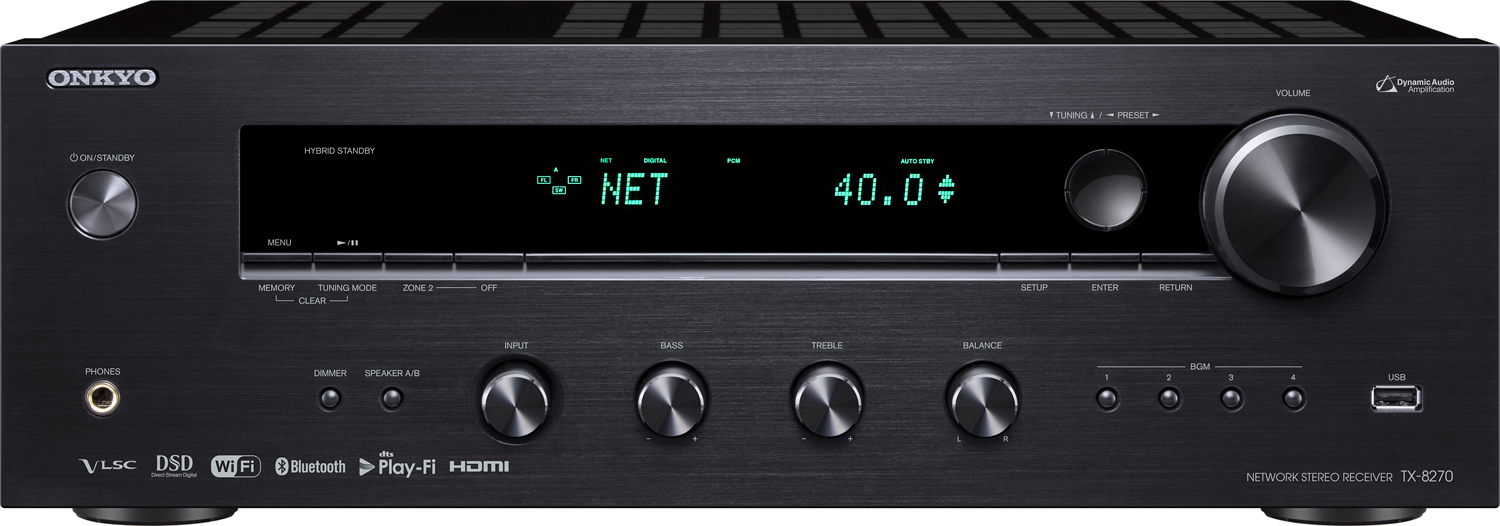 Onkyo Tx 8270 2 X 100 Watts Networking A V Stereo Receiver