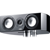 "CANTON Vento 856.2 6"" 3-way Center Channel Speaker Black Gloss"