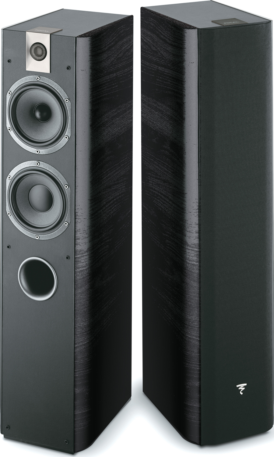 Focal Chorus 615 5 5 Quot 2 5 Way Floorstanding Speakers Black