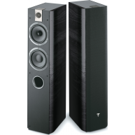 "FOCAL Chorus 615 5.5"" 2.5-Way Floorstanding Speakers Black Pair"