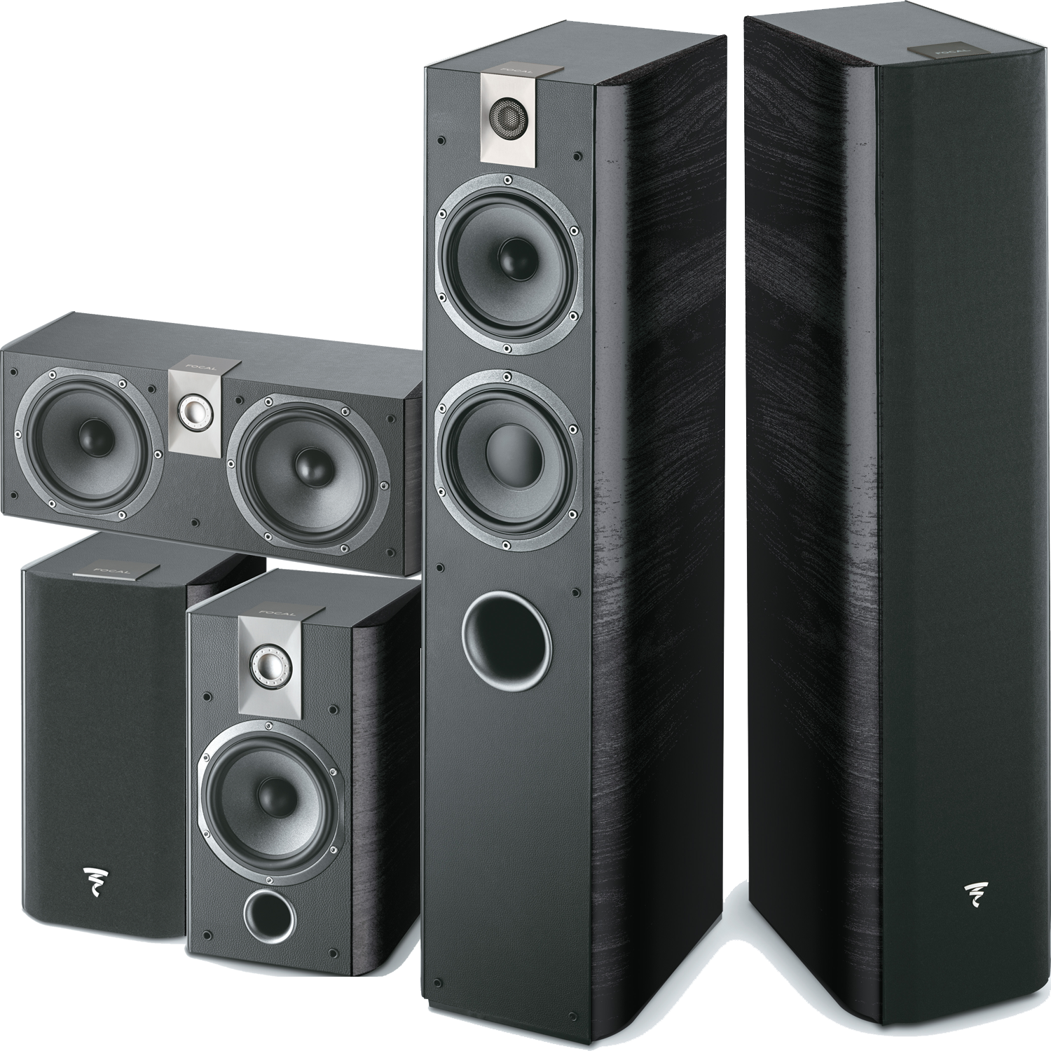 FOCAL Chorus 5 Piece Speaker Package | Accessories4less