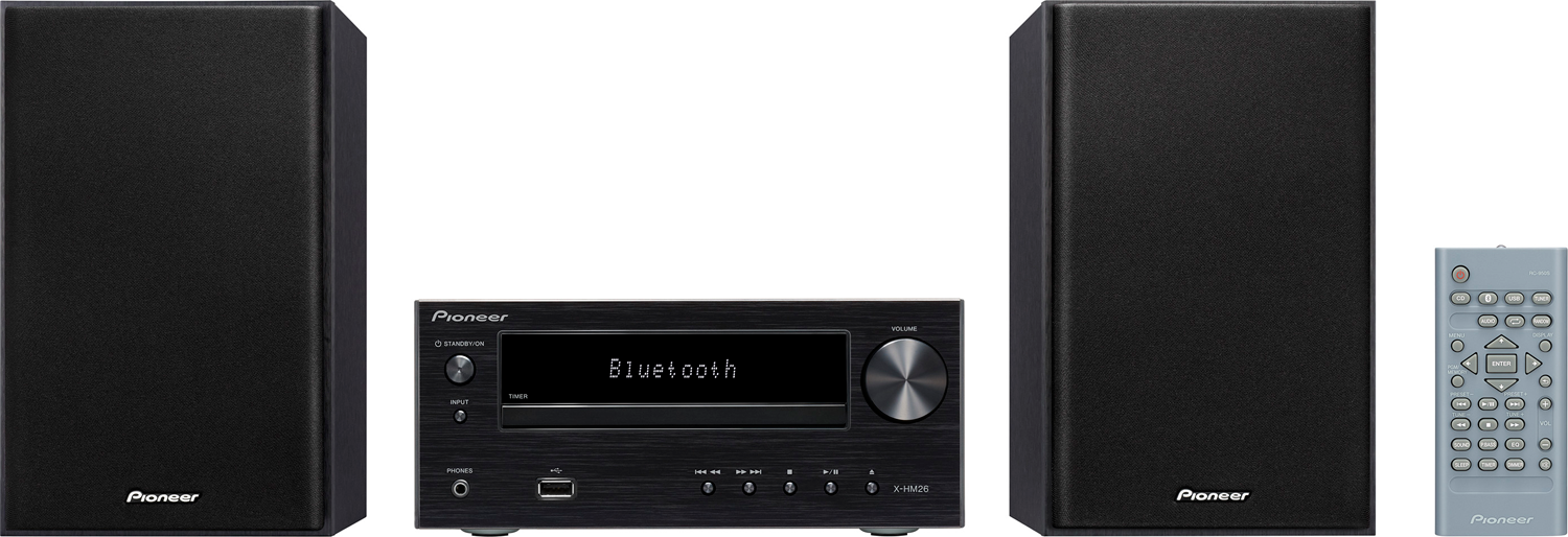 PIONEER X-HM26 30W Bluetooth Wireless Music System