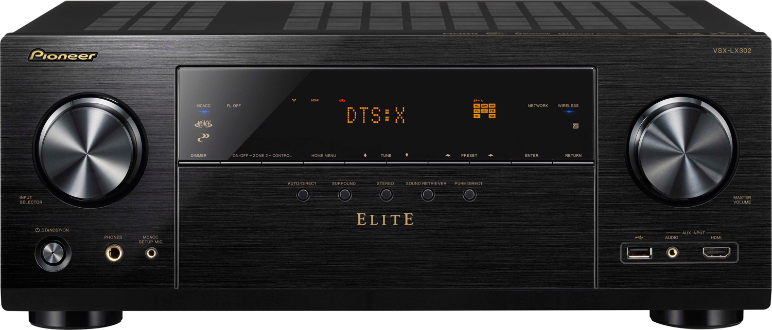 PIONEER Elite VSX-LX302 7.2-ch x 100 Watts Networking A/V Receiver