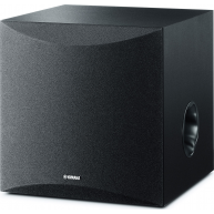 "YAMAHA NS-SW050 8"" 100 Watt Powered Subwoofer Black"