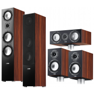 CANTON GLE 5 Piece Speaker Package Zebra Wood