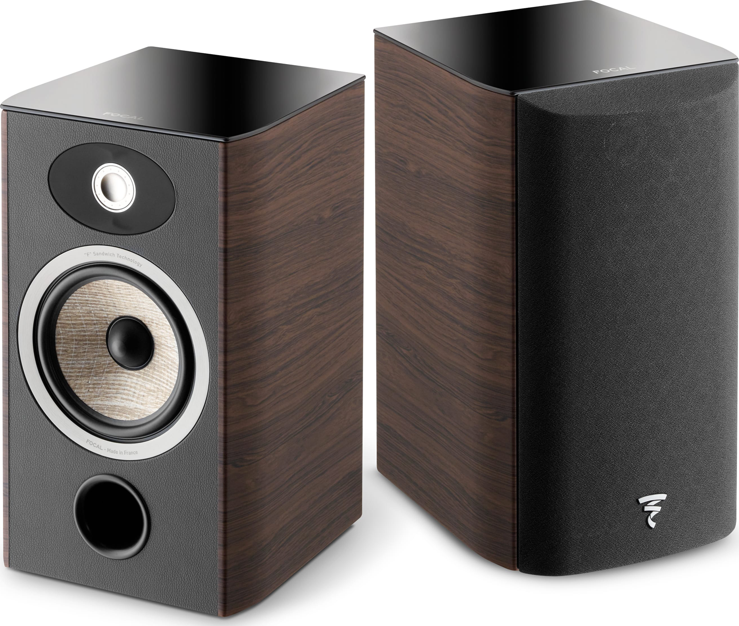 FOCAL Aria 906 65 2 Way Bookshelf Speaker Dark Walnut Pair