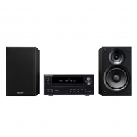 PIONEER X-HM21-K CD Receiver System iPod/iPhone/iPad Playback, FM/AM Tuner, and USB