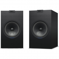 "KEF Q150 5.25"" 2-Way Bookshelf Speaker Black Pair"