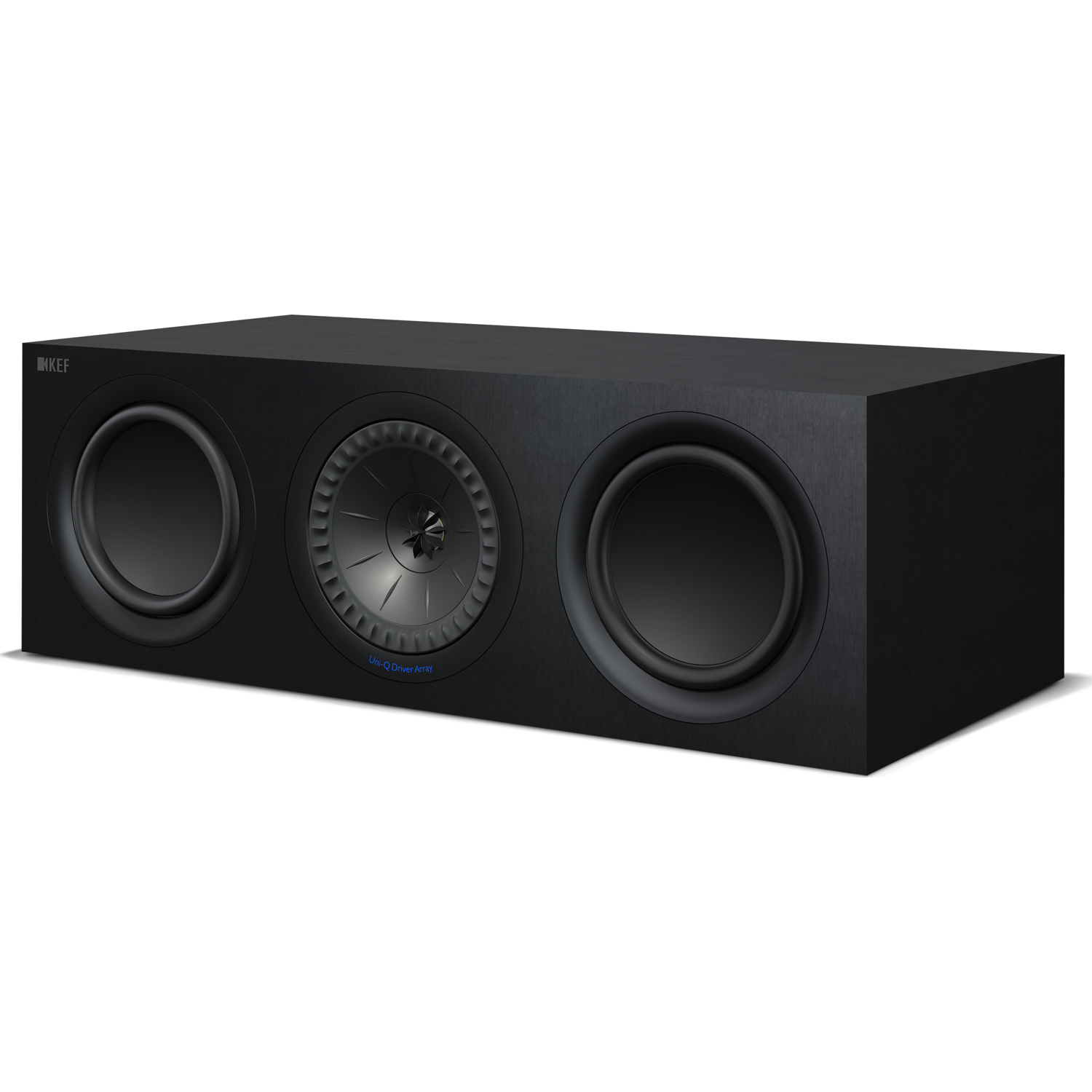 Kef Q650c 6 5 Quot 3 Way Center Channel Speaker Black