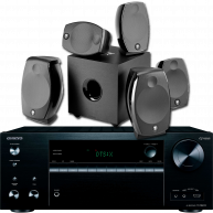 ONKYO TX-NR676 And Focal Sib EVO 5.1 Home Theater Package
