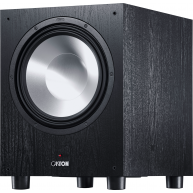 "CANTON SUB 12.3 12"" 380 Watt Powered Subwoofer Black"
