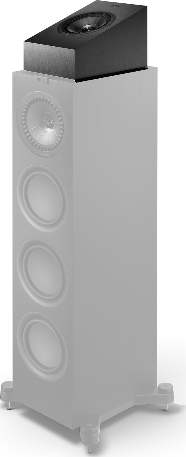 Kef Q50a Dolby Atmos Enabled Surround Speaker White Pair