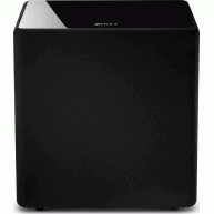 "KEF KUBE 10B 10"" 300 Watt Class-D Powered Subwoofer Black"