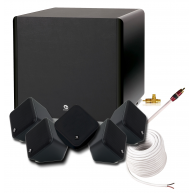 BOSTON ACOUSTICS Soundware and ASW250 5.1 Speaker Package Black