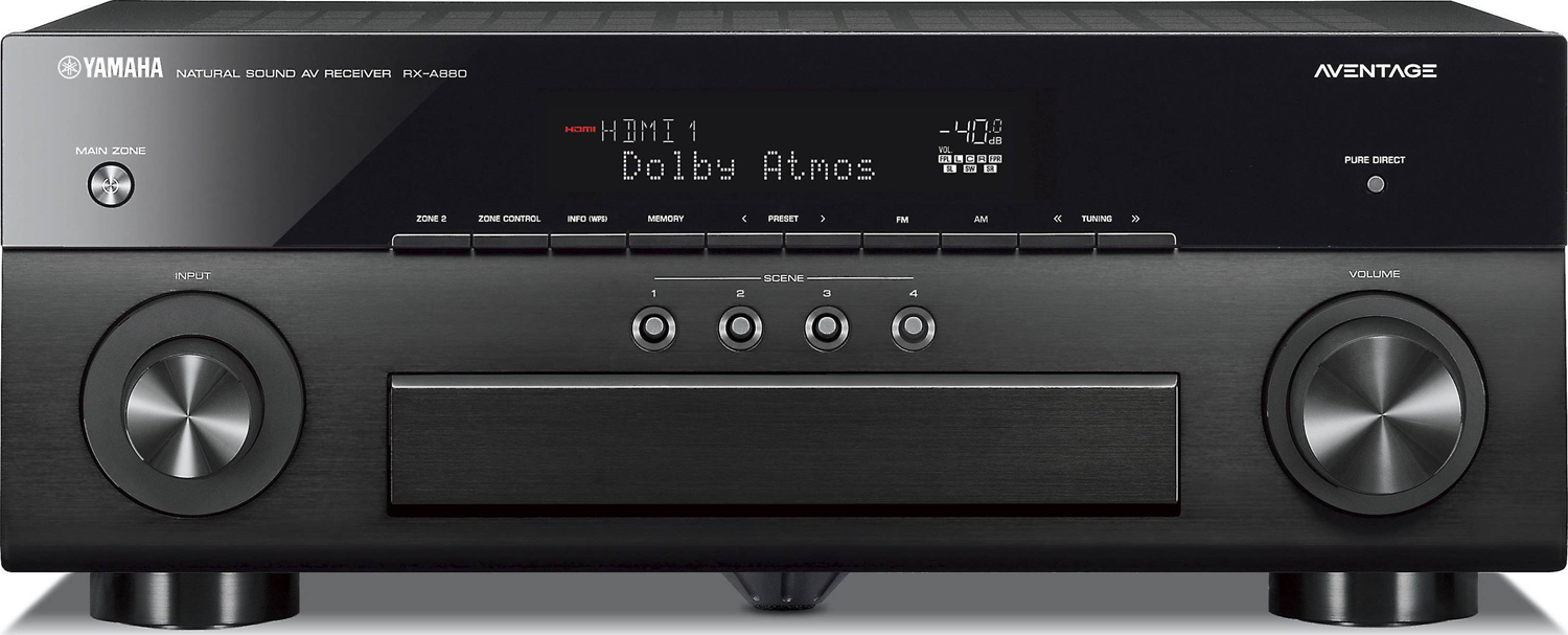 yamaha rx a880 7 2 ch x 100 watts a v receiver. Black Bedroom Furniture Sets. Home Design Ideas