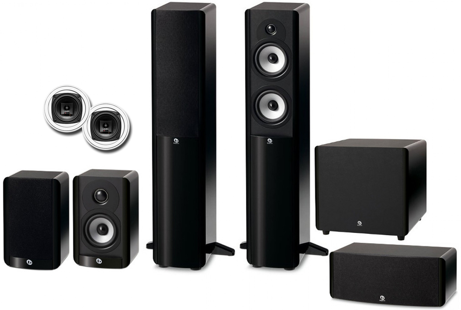 Home Theater Speakers >> Boston Acoustics A Series 5 1 2 Advanced Home Theater Speaker