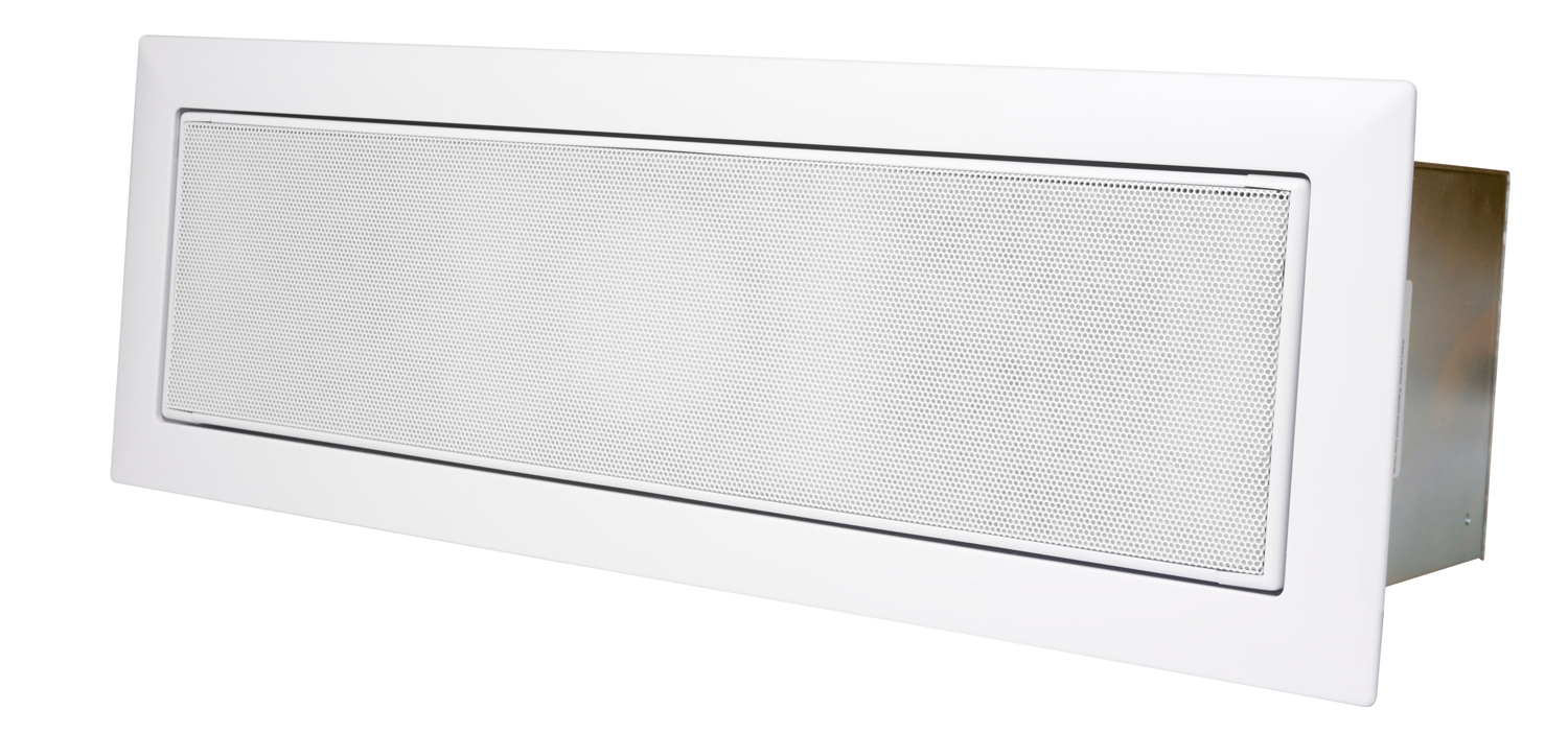 KEF CI3-80QT Rectangle Motorized In-Ceiling Architectural Loudspeaker Each