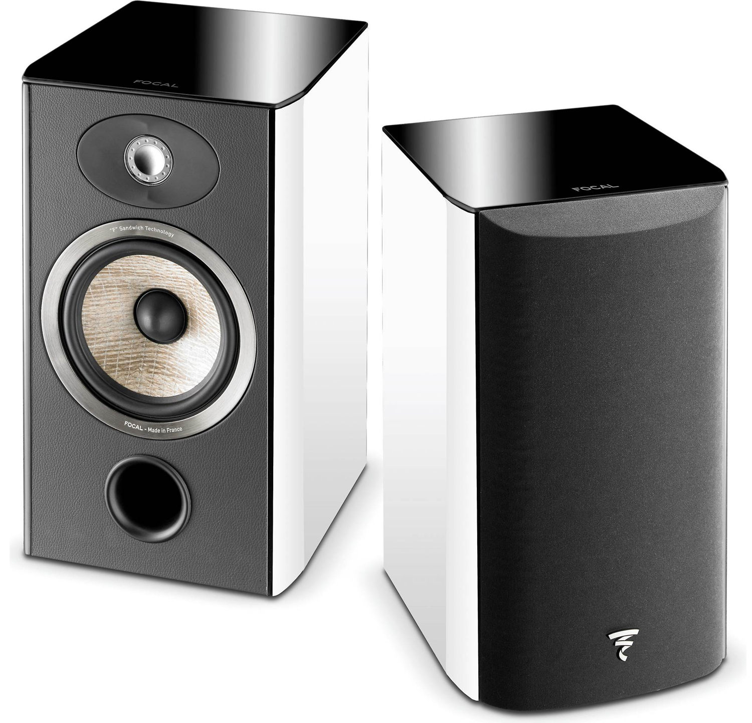 FOCAL Aria 906 65 2 Way Bookshelf Speaker White Pair
