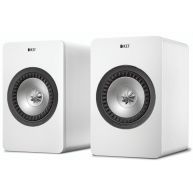 "KEF X300A 5.25"" 2-Way Digital Hi-Fi Speaker System White Pair"