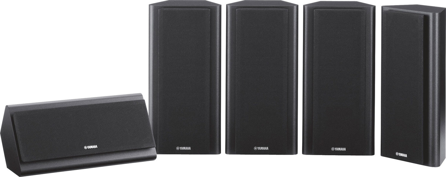 YAMAHA NS-PB120 Thin Compact 5.0 Surround Theater Speaker Package