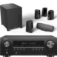 DEFINITIVE TECHNOLOGY PROCINEMA 400 5.1 Speakers w/ Denon AVR-S540BT